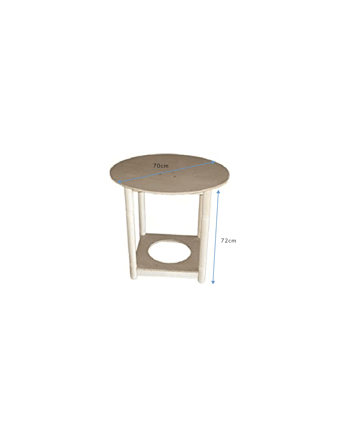 Taburete elevable asiento acolchado