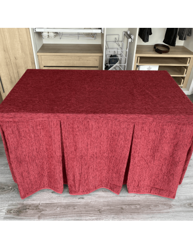 mesa comedor madera extensible con cristales - Mesas De Comedor Madera